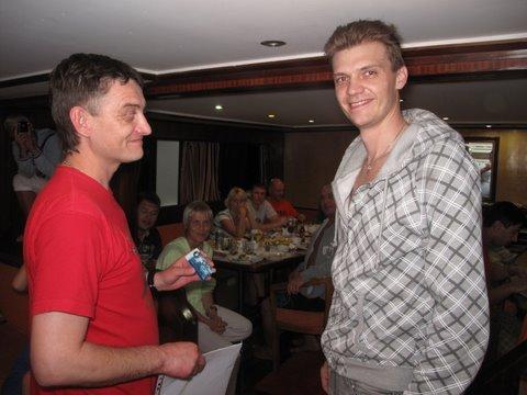 Саша Сахаров и Дима Чуянов, 2011